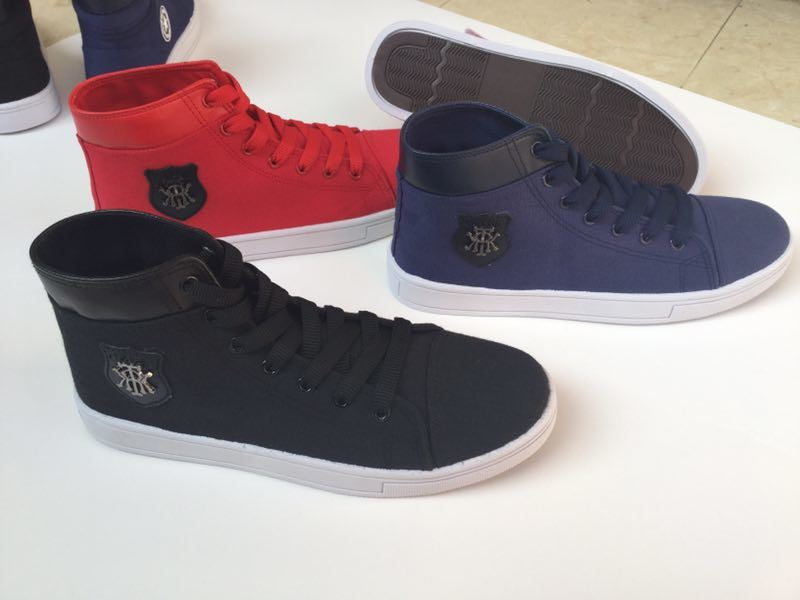 High Cut Casual Leisure Fashion Footwear Comfort Canvas Shoes for Men