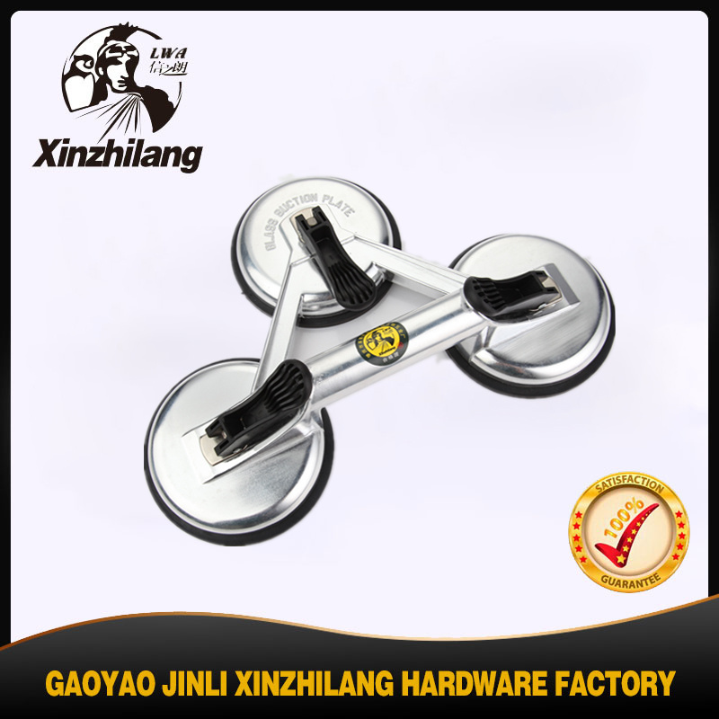 Two Cups Aluminum Vacuum Glass Suction Cups Auto Part