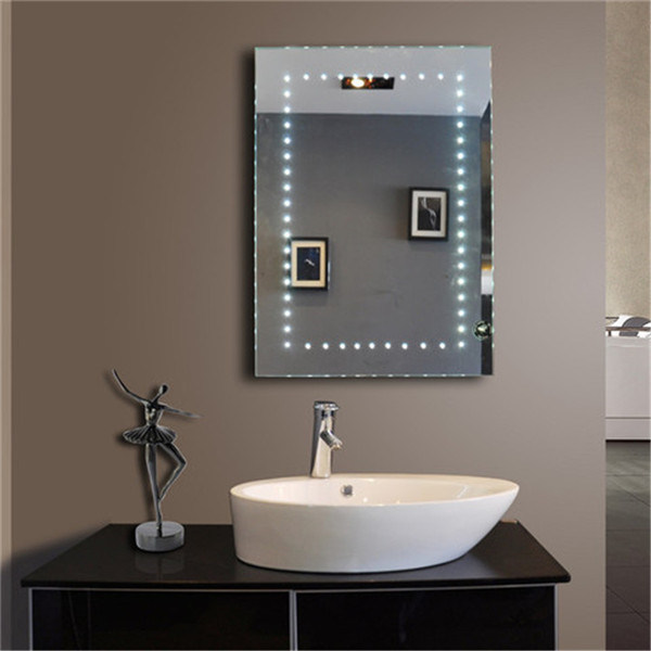 UK Bathroom Sensor Switch Smart Function LED Illuminated Mirror