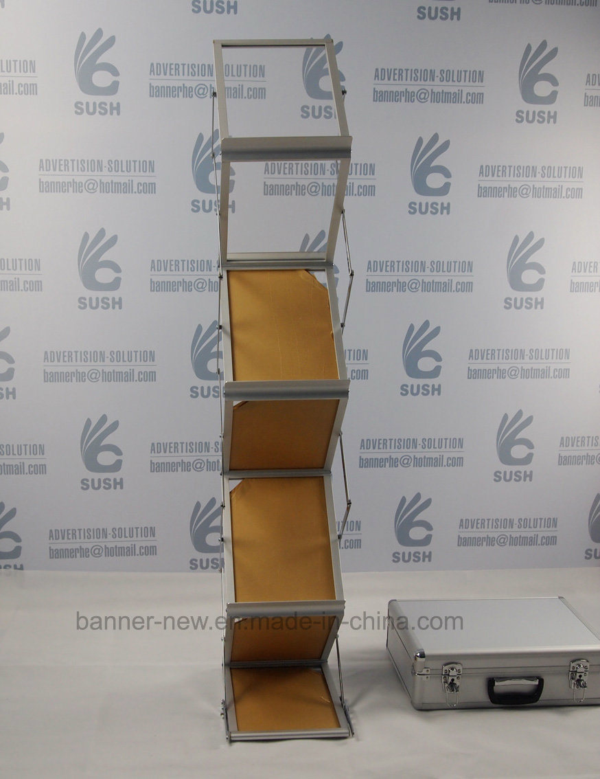 Easy Foldable Brochure Holder Magazine Rack