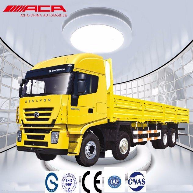 Sih 290HP 8X4 Heavy Duty Cargo Lorry/Van Truck