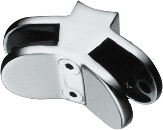 Stainless Handrail Fittings for Glass Clamp
