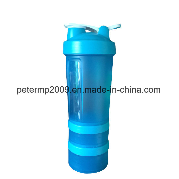 3 Layers 600ml Direct Drinking Active Hydrogen Water New Design Shaker Water