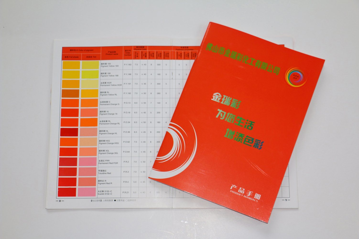 Wall Paint Color Shade Chart Brochure