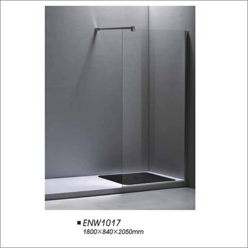 Walk-in Type Frameless Shower Screen