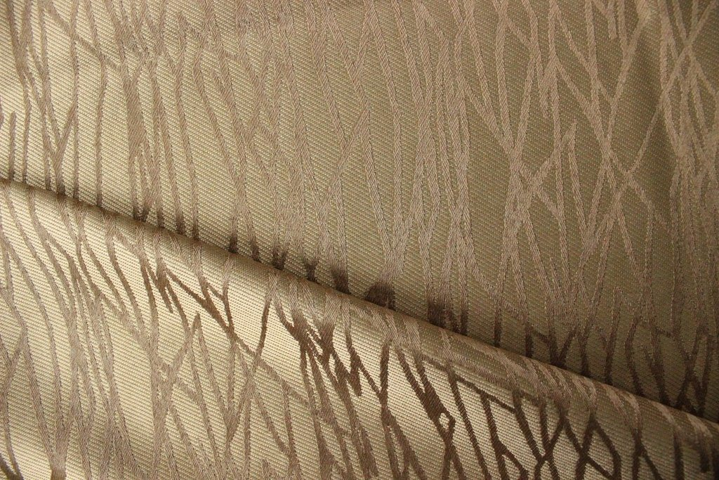 Jacquard Polyester Curtain Drapery Fabric