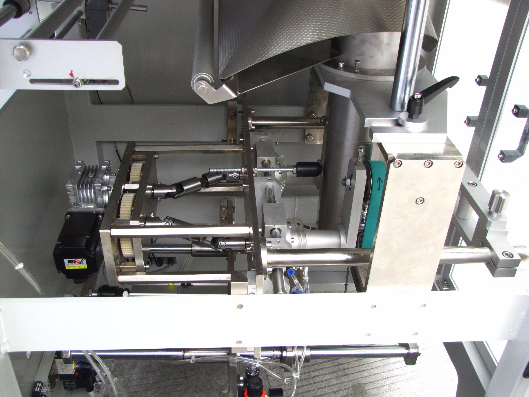 Candy/Chocolate/Chip Big Volume Back Seal Bag Vertical Packing Machine