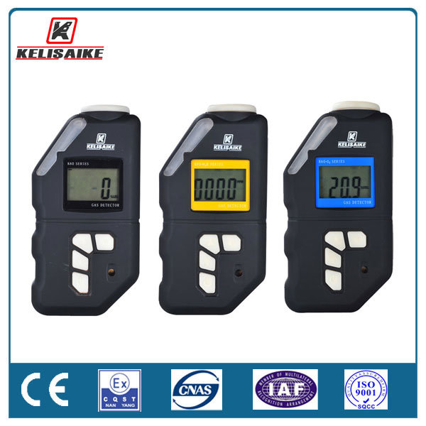Personal Gas Monitor Portable 0-1000ppm Co Gas Detector