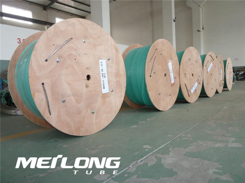 N08825 Nickel Alloy Downhole Hydraulic Control Line Coiled Tubing