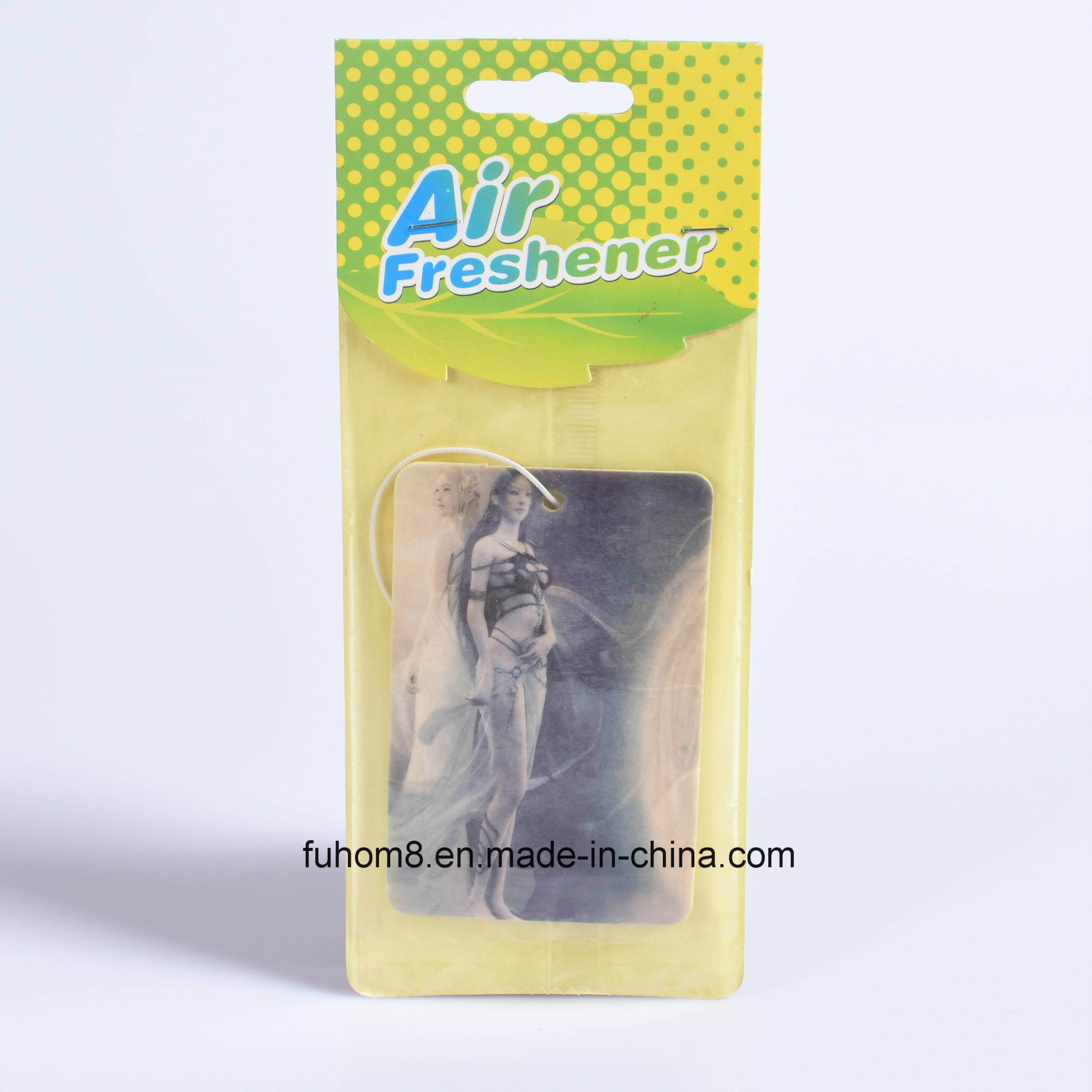 Professional Paper Air Freshener Manufacturer for Gift