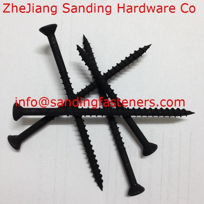 Plug Head Harden Black Phosphorus Drywall Screws