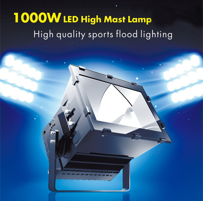 LED Projector Light 1000W for Tennis Court