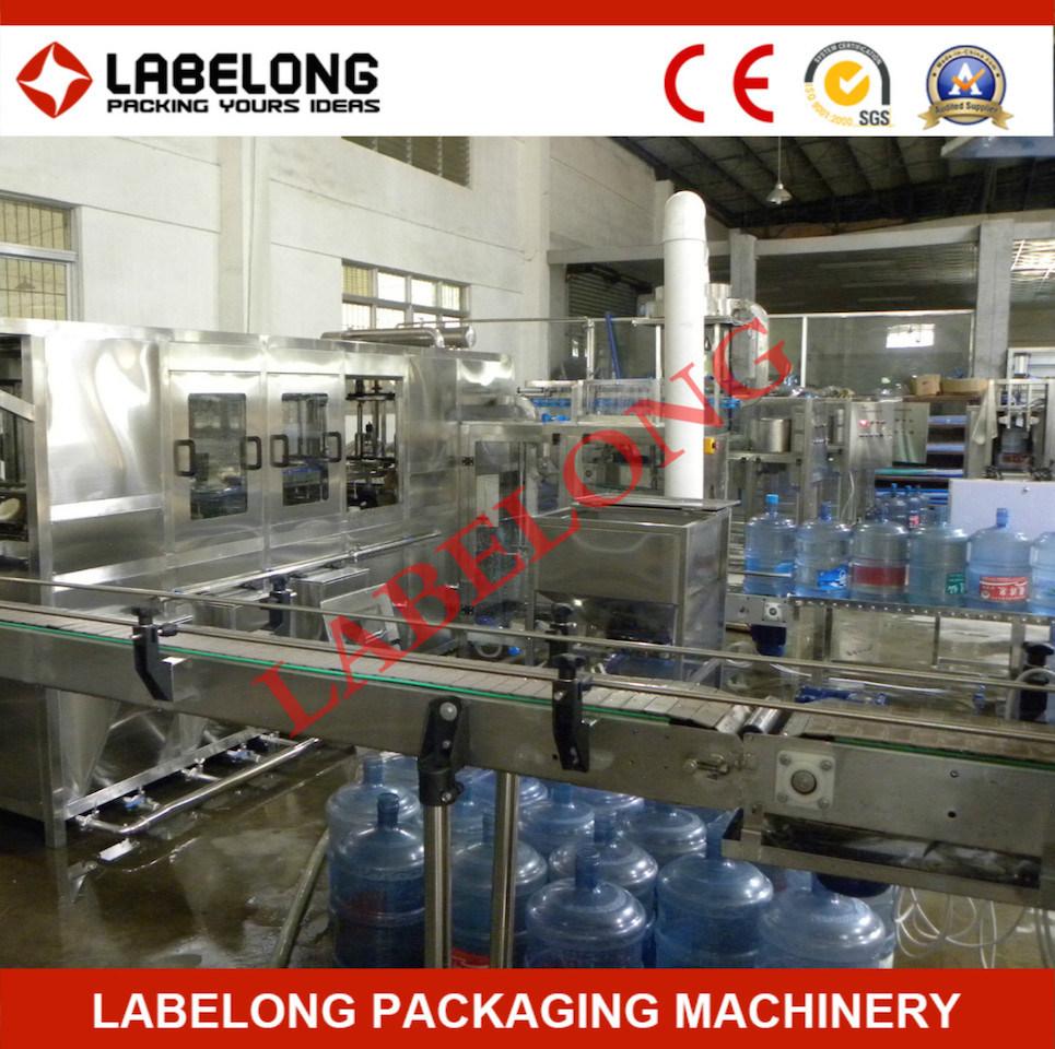 Automatic 5 Gallon Barrel Bottle Drinking Water/Mineral Water Bottling Machine
