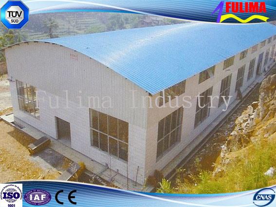 Economic Steel Prefabricated Building for Shed Workshop