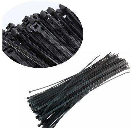 "1000 PCS 12"" Nylon Plastic Zip Trim Wrap Cable Loop Ties Wire Self Lock 40 Lbs"
