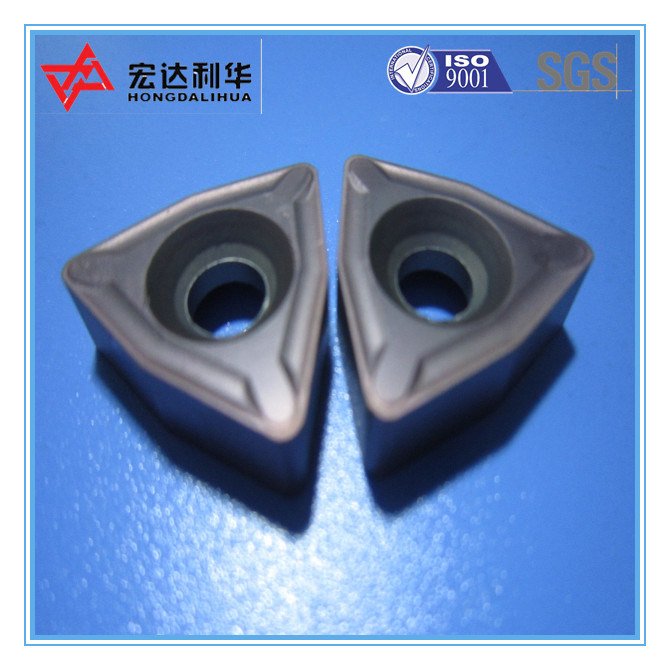 High Quality Indexable Carbide CNC Inserts for Steel Cutting