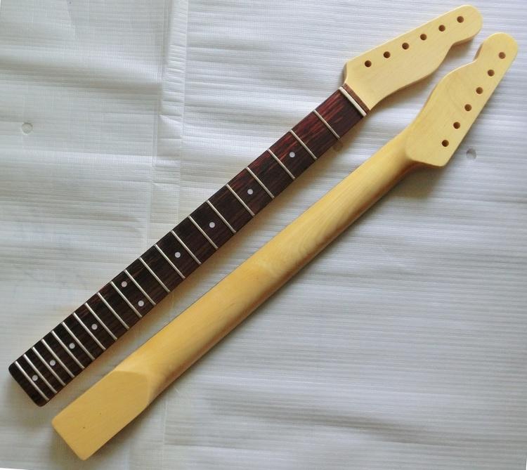 Aged Nature Color Custom Vintage Tele Guitar Neck Nitro Finished
