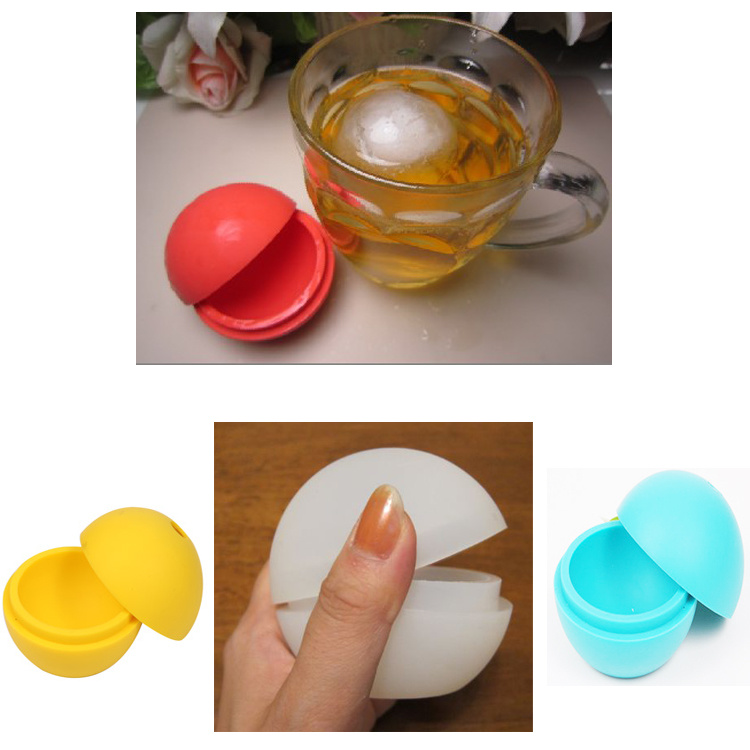 Hot Selling Food Grade Cute Silicone Ice Ball Ice Mould