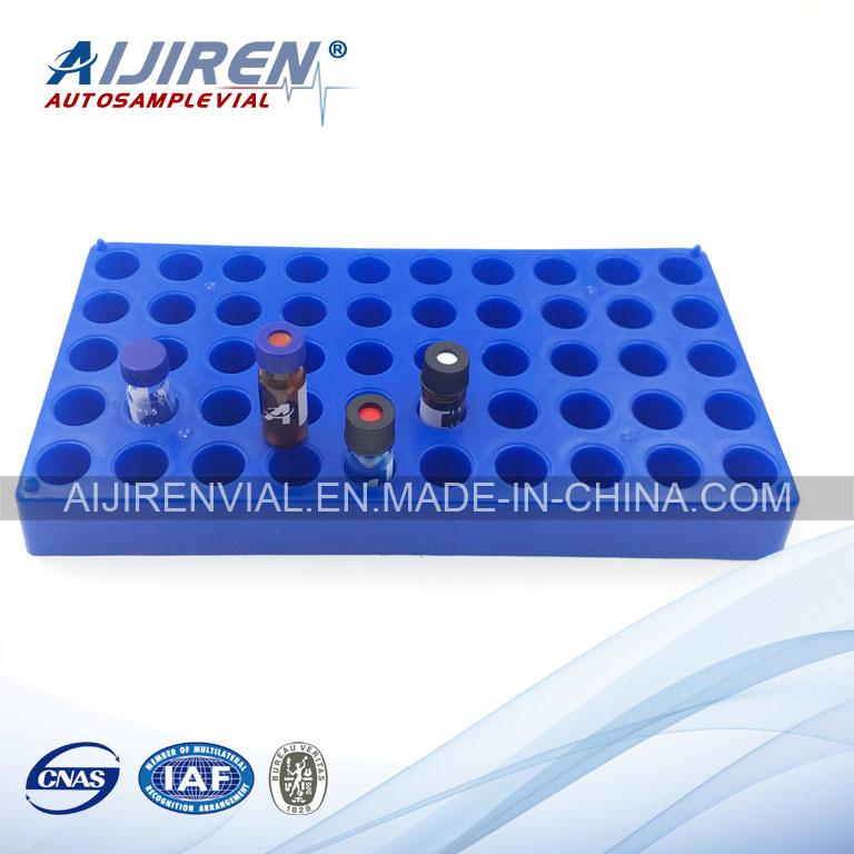 Vial Racks for Glass Vials Blue PP 50 Holes 1PCS/Pack
