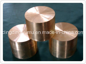 Mould Pressing Cuw Alloy Rod Electrode for Vacuum Contact