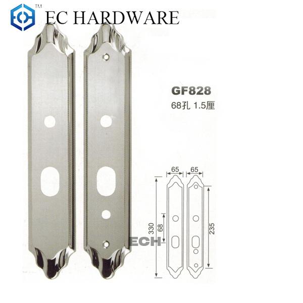 Stainless Steel Stamping Front Door Lock (GF828)