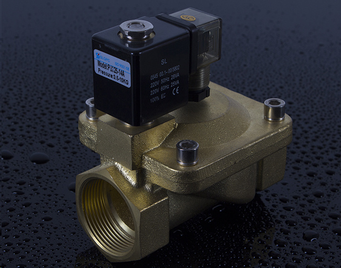 PU225-14A Magnetic Water Normally Closed Solenoid Valve