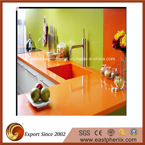 Quartz Stone for Tile, Slab & Kitchen Countertop