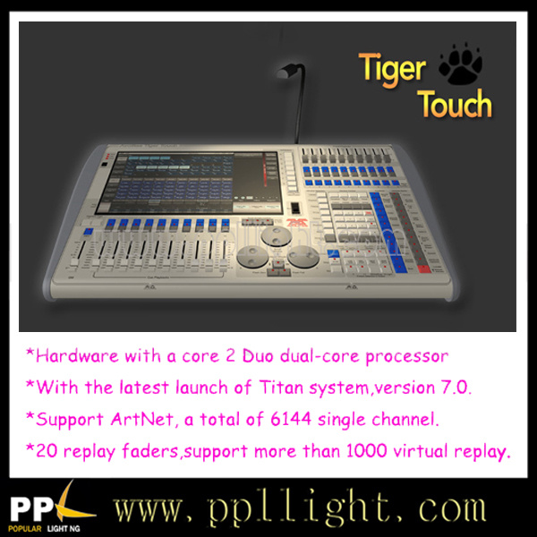 7.2 Version Avolites Tiger Touch Controller