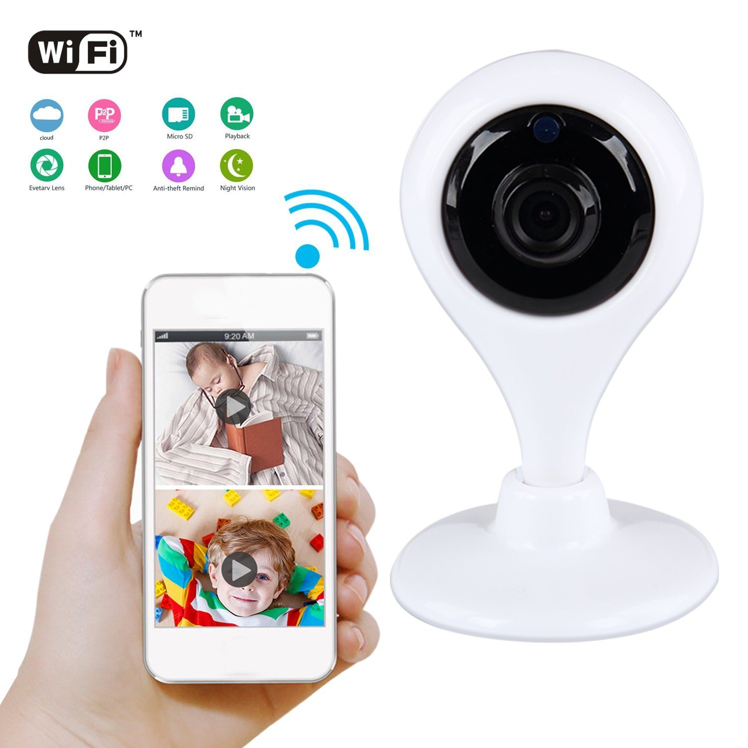 Baby Care Smart Home Security Camera