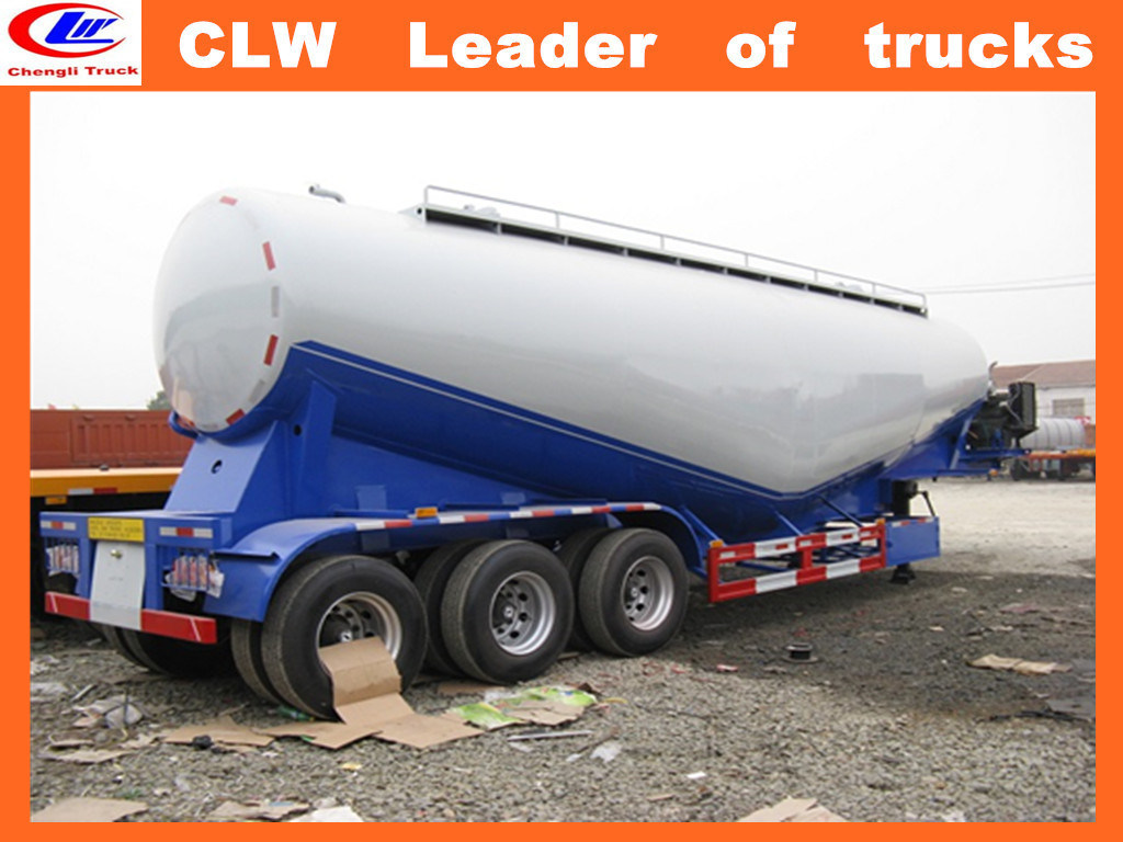 Factory 30 Tons Bulk Cement transportation Semi Trailer