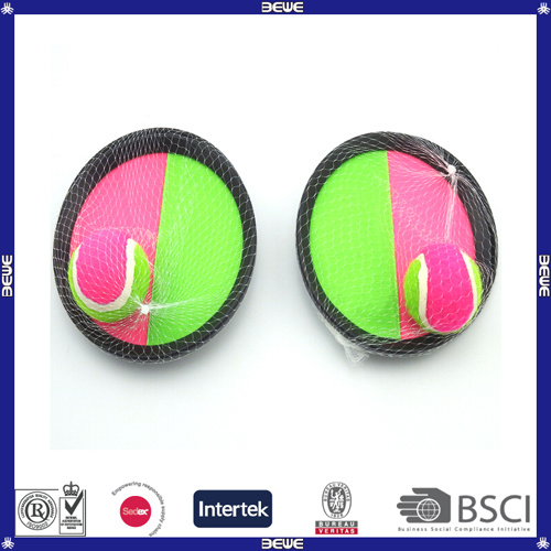 Cheap Price Sports Toys Plastic OEM Logo Catch Ball Racket Toy
