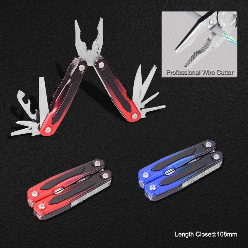 Top Quality Multitools with Gradient Aluminum + Rubber Handle (#8364)