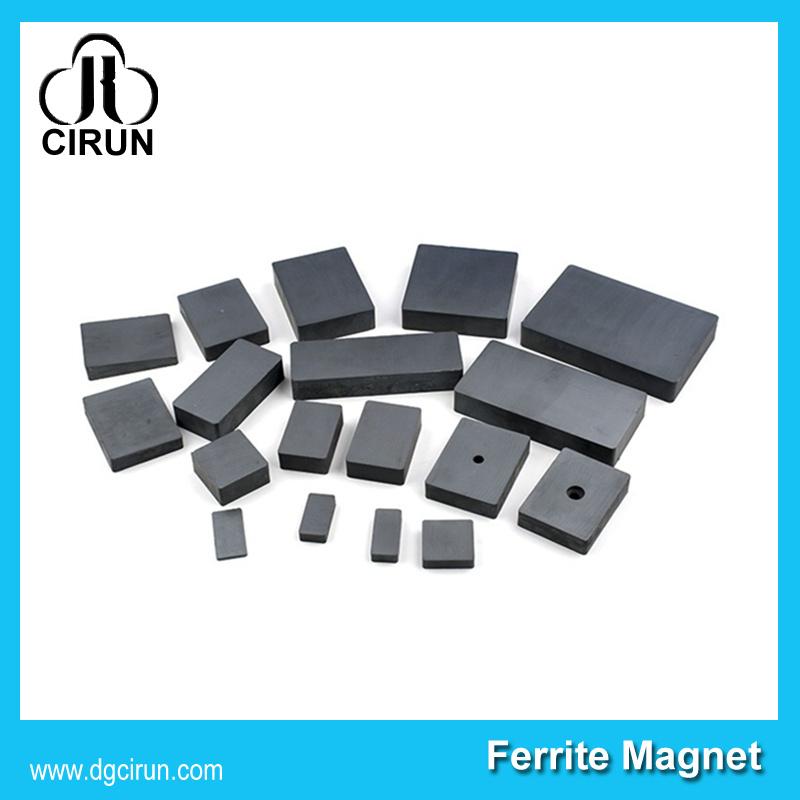 Cheap Price Industrial Use Square Block Bar Ceramic Permanent Ferrite Magnet