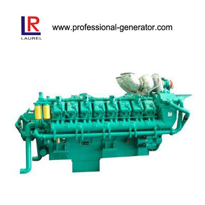 60Hz Marine Diesel Engine for Boat 640kw-2000kw