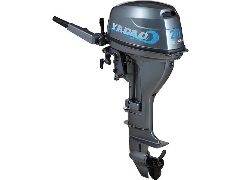Powerful 20HP Outboard Marine Motor 4 Stroke Gasoline Engine Outboards