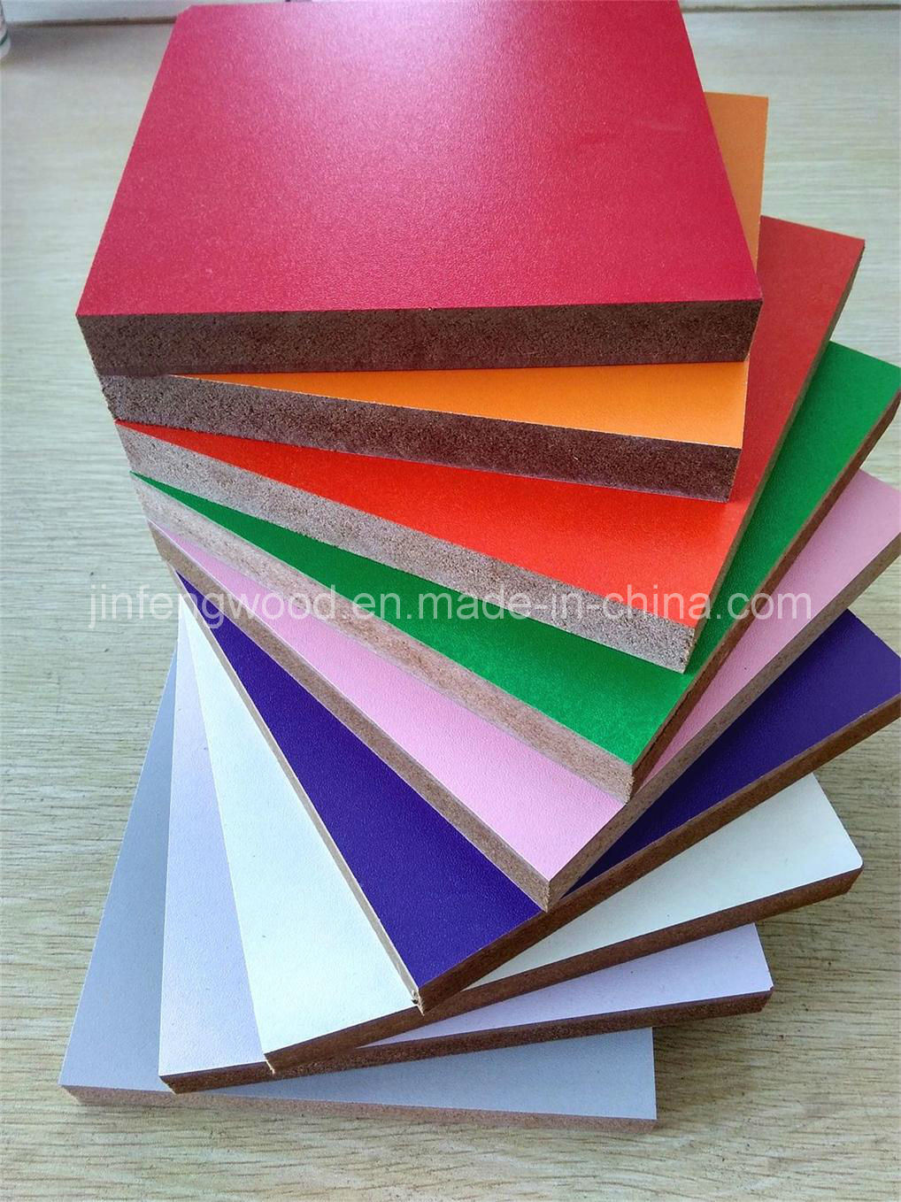 Melamine MDF for Classical Style Kitchen Furniture