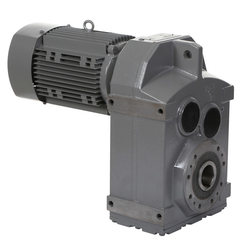 F Series Parallel Shaft Helical Gearbox Geared Motor Speed Reducer