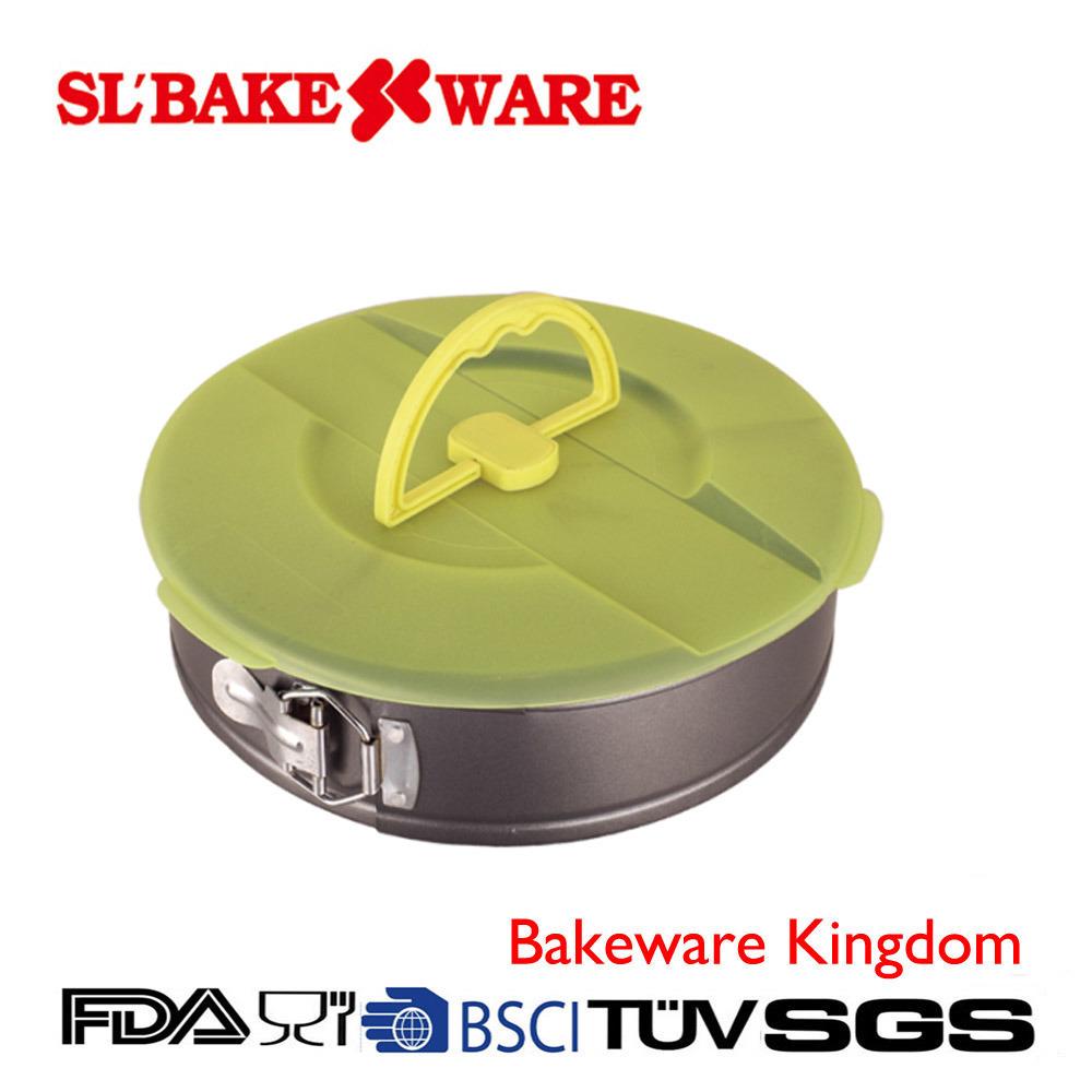 Springform W/Lid Carbon Steel Nonstick Bakeware (SL BAKEWARE)