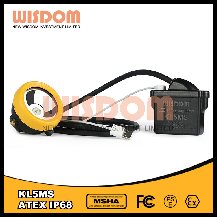Wisdom Head Lamp, LED Miners Cap Lamp, Kl5ms