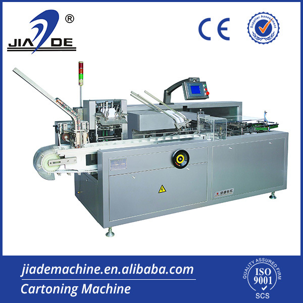 Automatic Cartoning Machine for Medicine Blister (JDZ-100)