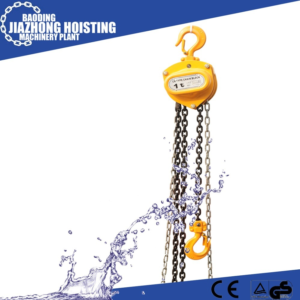 Huaxin Hs-CB Type 1000kg 4meter Chain Block