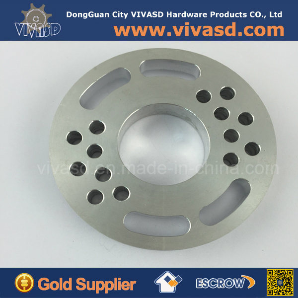 CNC Milling Parts Custom Aluminum CNC Turning Flange Ring
