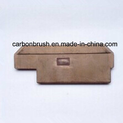 Industry Current Collector Contact Shoe Copper Vane