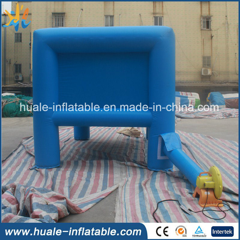 Hot Sale Kids Game Toy Obstacle Inflatable Archery Hoverball Target