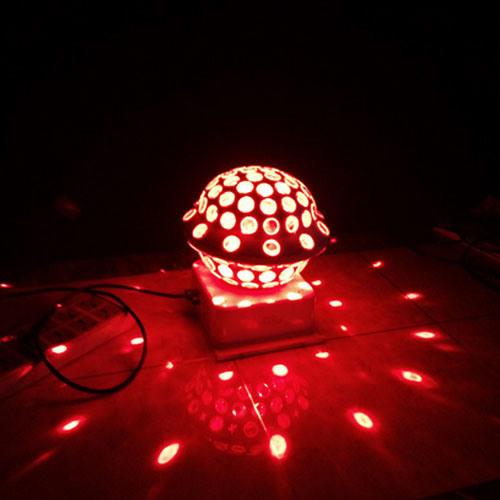 New UFO Crystal Rotating LED Ball Light