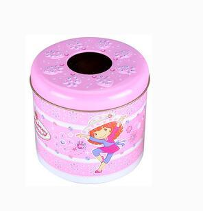 Metal Gift Tea Tin Box for Cookies Candy Packaging