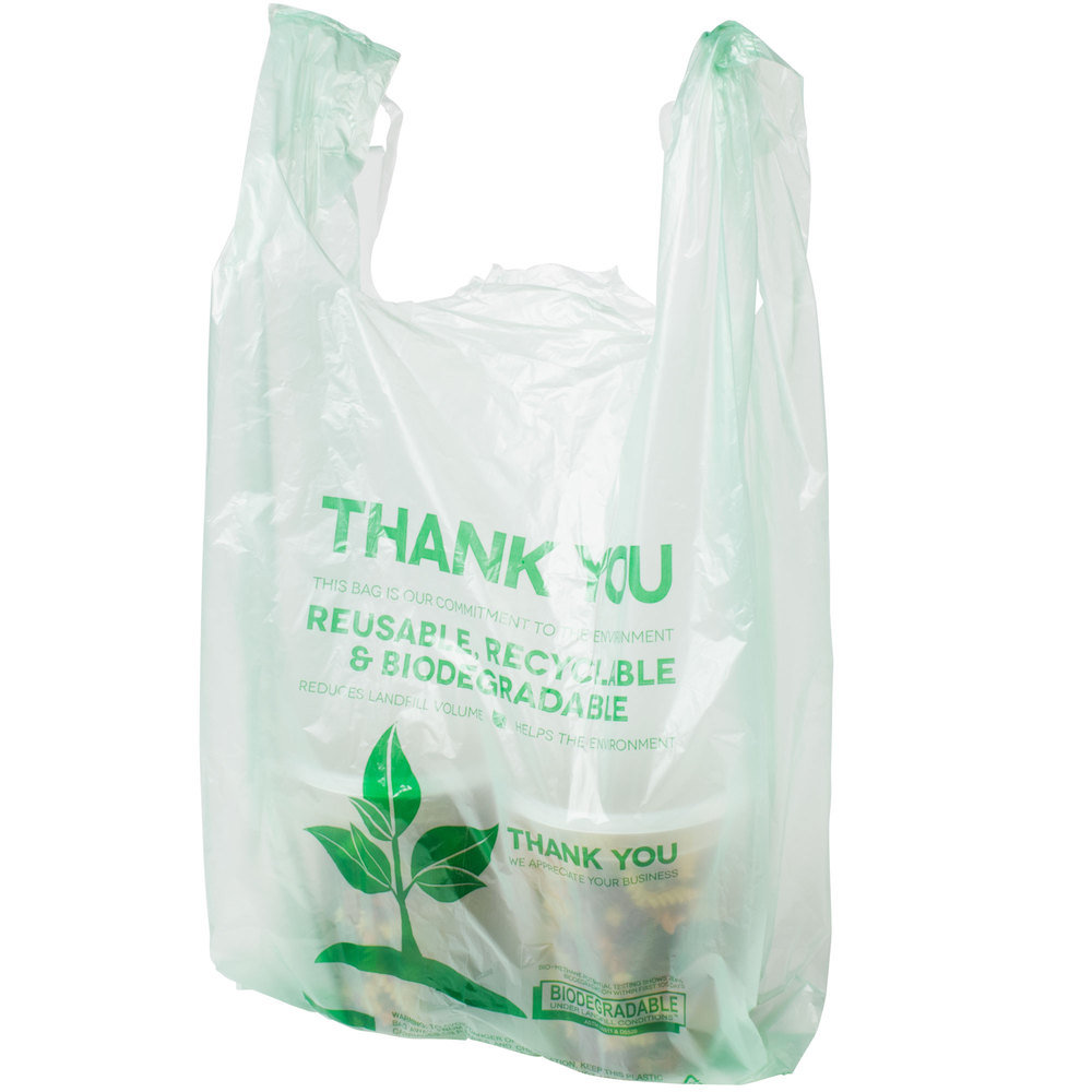 Plastic Vest Bag