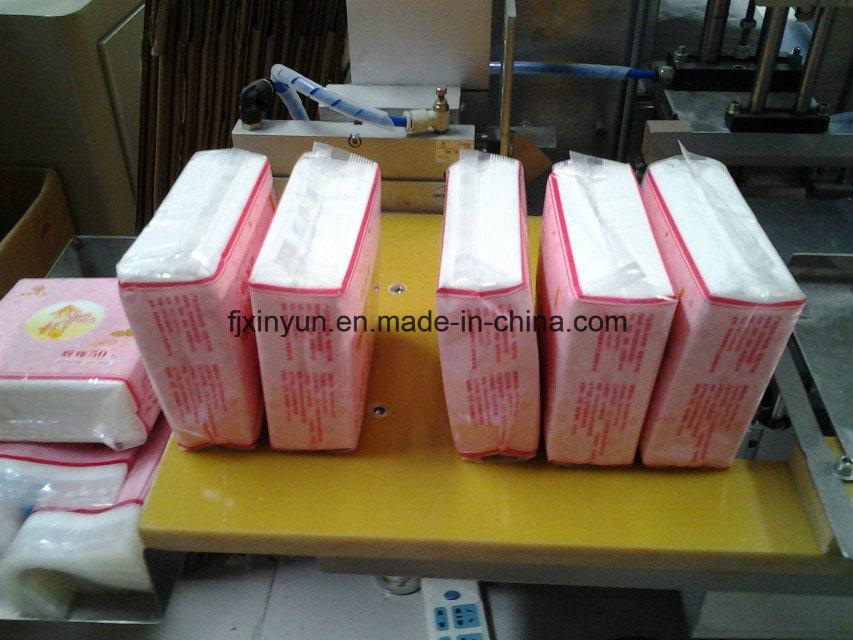 China Equipment Facial Tissue Packaging Machine Plastic Bag Type