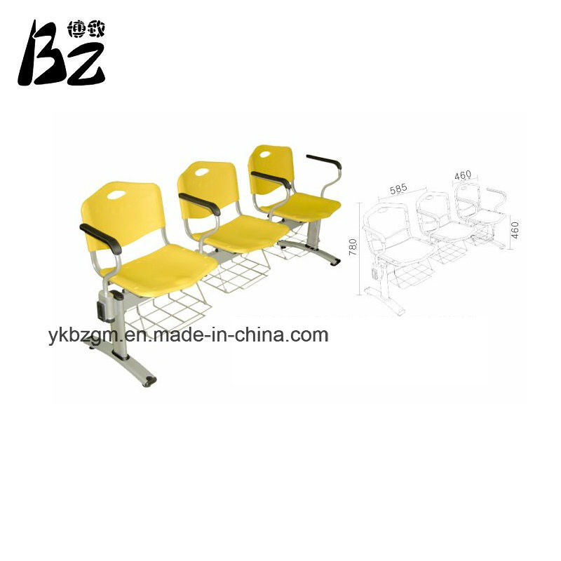3 Seats Plastic Public Chair (BZ-0357)