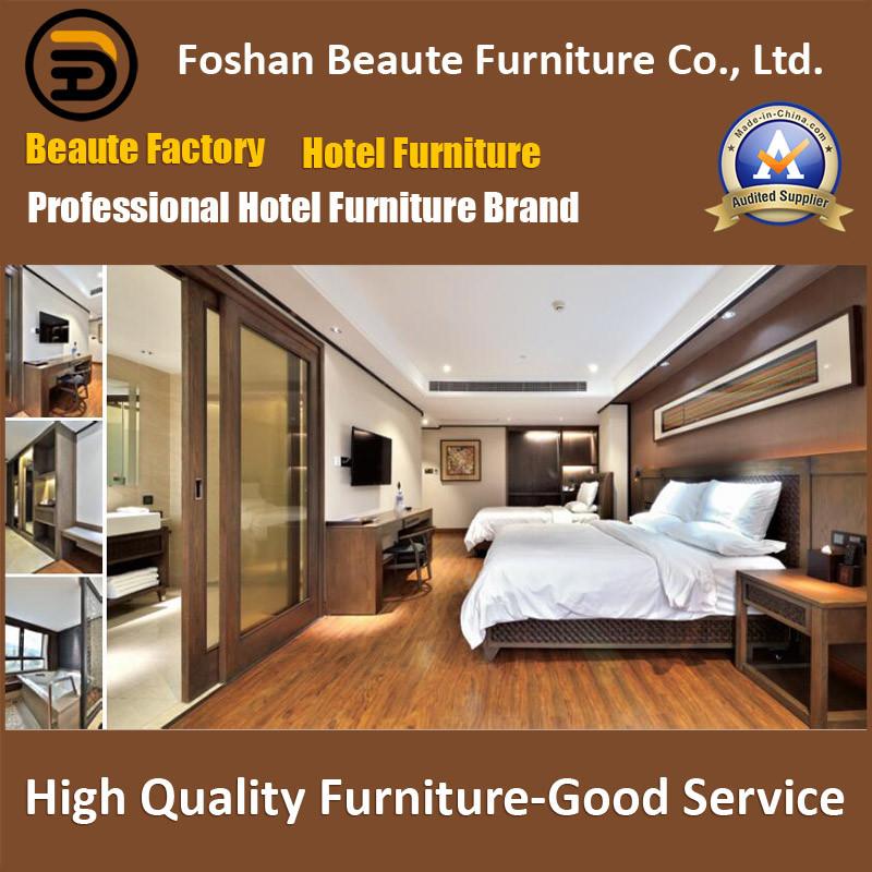 Hotel Furniture/Luxury King Size Hotel Bedroom Furniture/Restaurant Furniture/King Size Hospitality Guest Room Furniture (GLB-0109806)